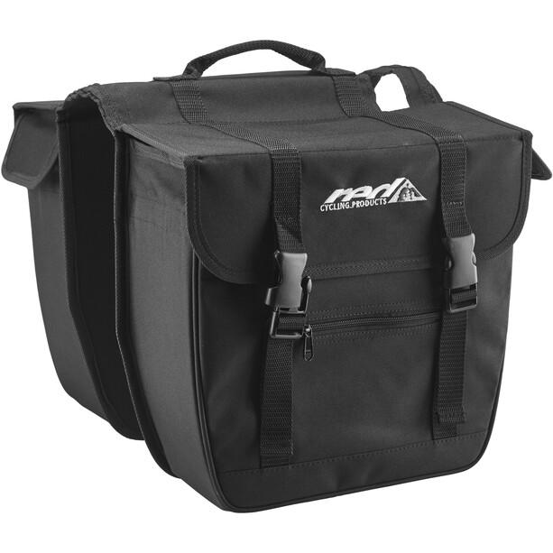 Red Cycling Products Travel Double Bag Gepäckträgertasche schwarz