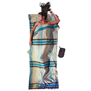 Cocoon TravelSheet Cotton Flannel african rainbow african rainbow