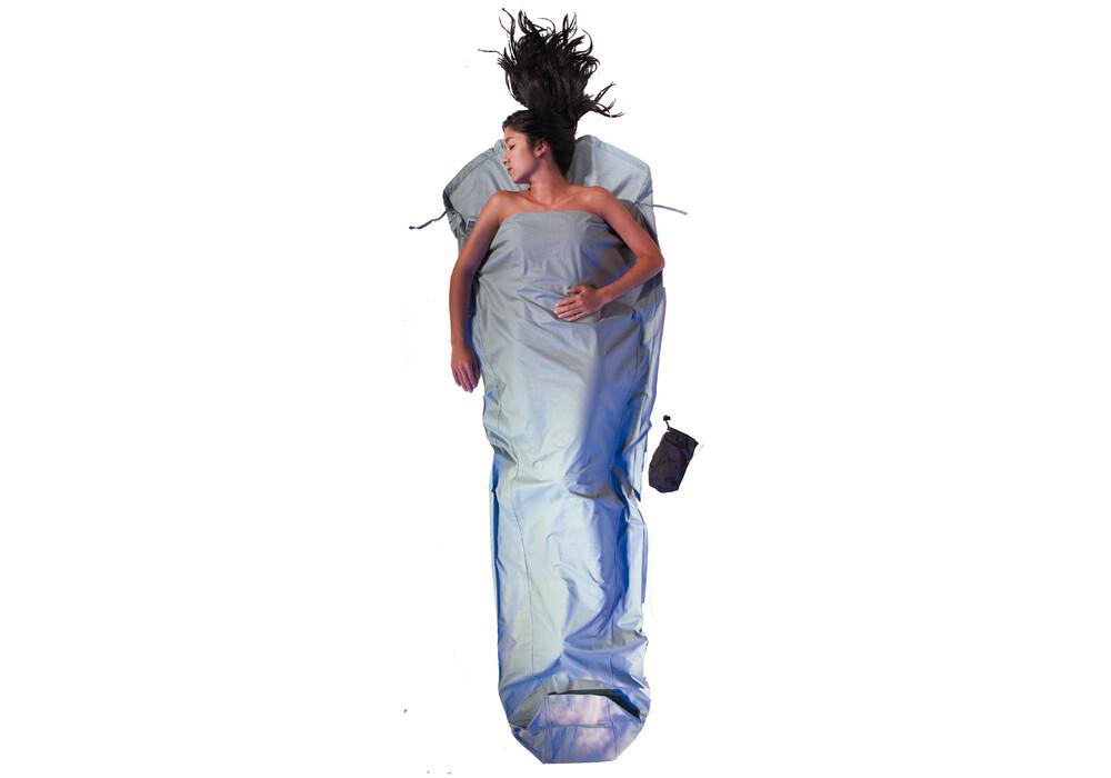 cocoon drap sac de couchage en coton bleu sur. Black Bedroom Furniture Sets. Home Design Ideas