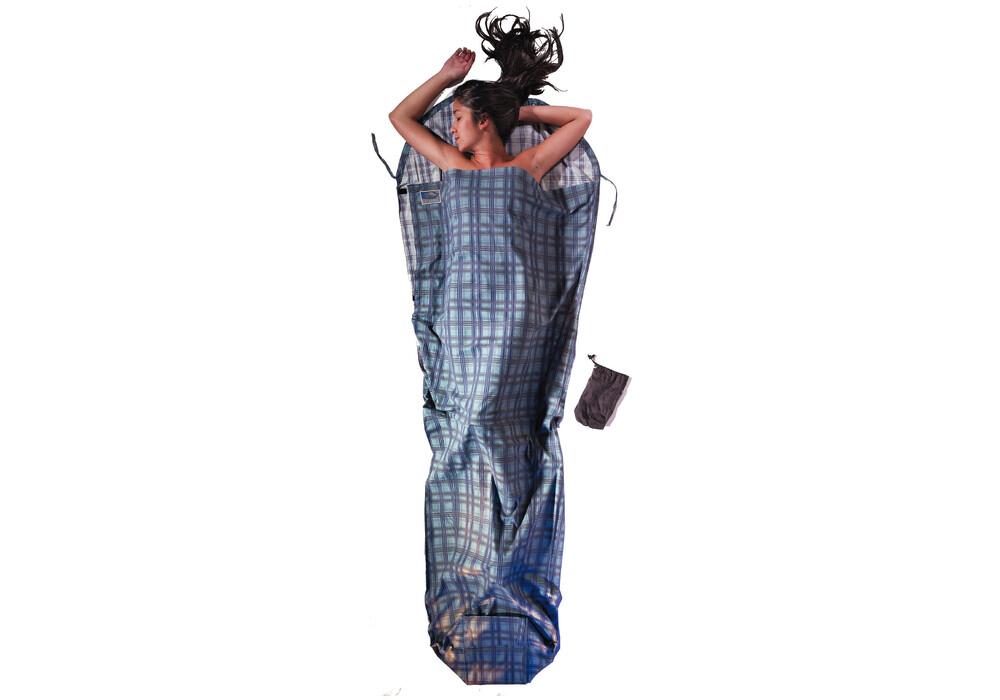 cocoon drap sac de couchage coton flanelle multicolore. Black Bedroom Furniture Sets. Home Design Ideas