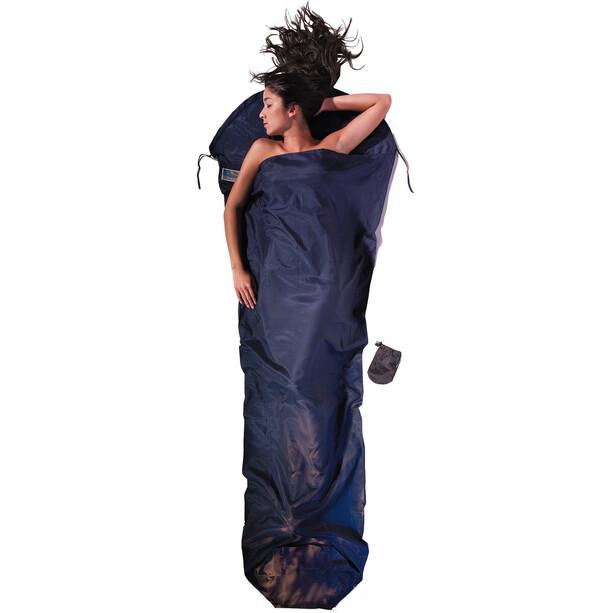 Cocoon MummyLiner Silk Cotton blau