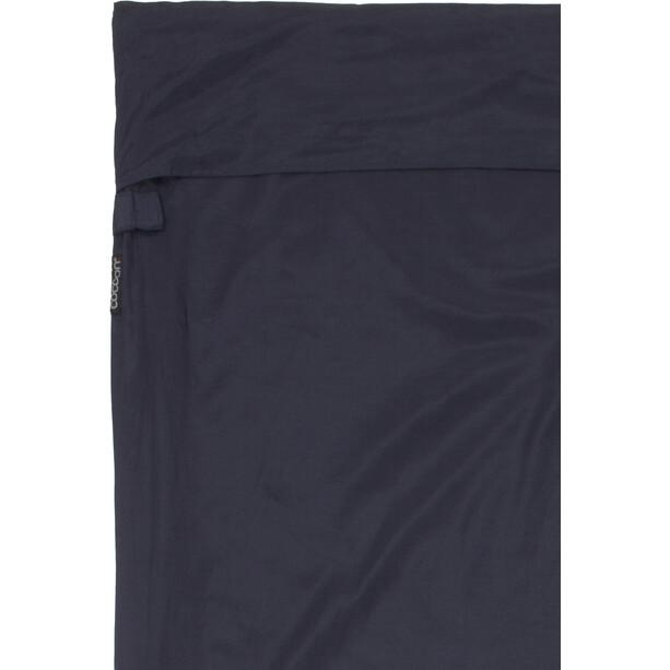 Cocoon TravelSheet-Coupler Inlet Silk Cotton blau