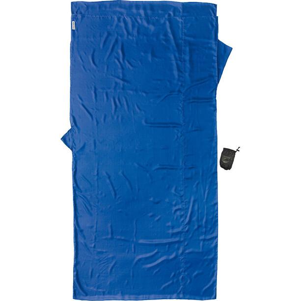 Cocoon TravelSheet Inlet Silk XL blau