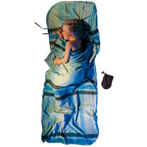 Cocoon KidSack Drap pour sac de couchage Flanelle de coton Enfant, bleu bleu