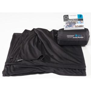 Cocoon Travel Blanket CoolMax schwarz schwarz