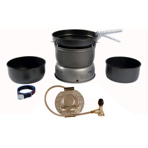 Trangia Sturmkocher 25-5 Storm Cooker Ultralight Aluminum with Gas Burner
