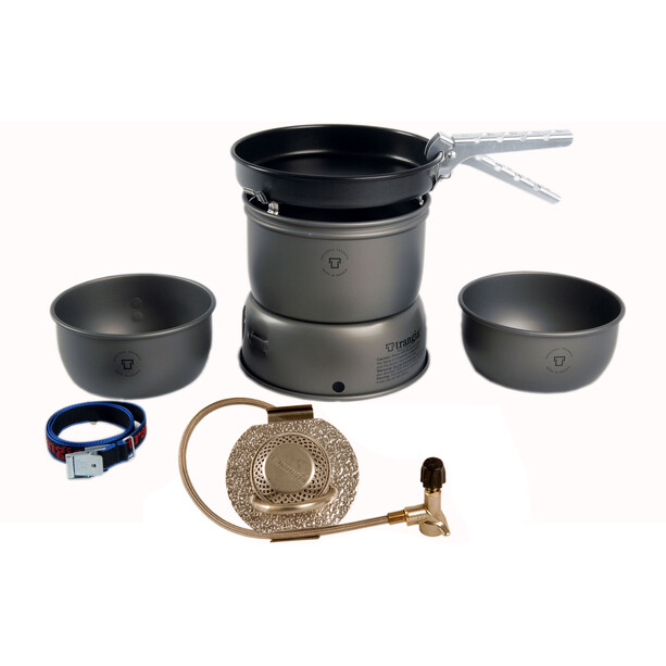 Trangia 27-3 UL ALU HA Storm Cooker Ultralight Aluminum with Gas Burner