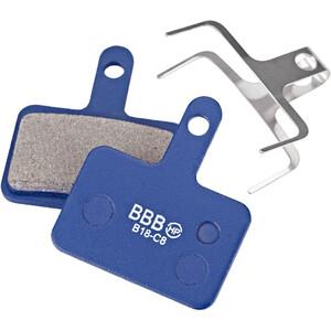 BBB DiscStop BBS-53 Bremseklodser Shimano, blå blå