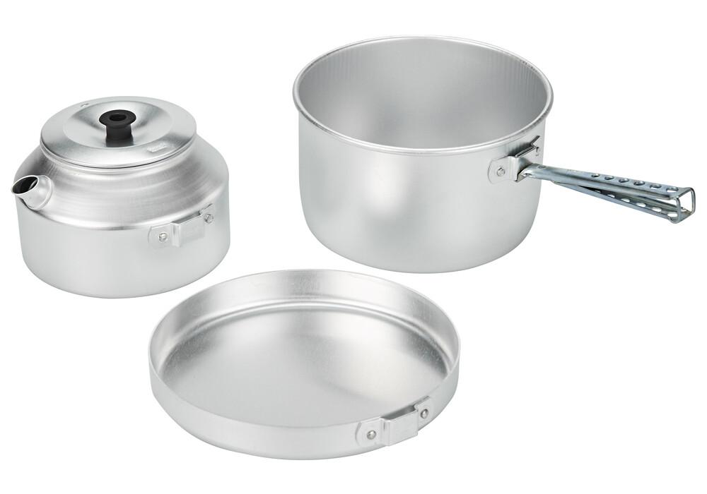 Set de cocina trangia 628 aluminio - Cocina aluminio ...