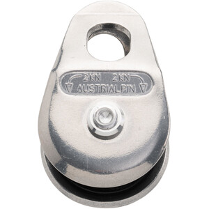 AustriAlpin Rope Pulley Polished 70mm