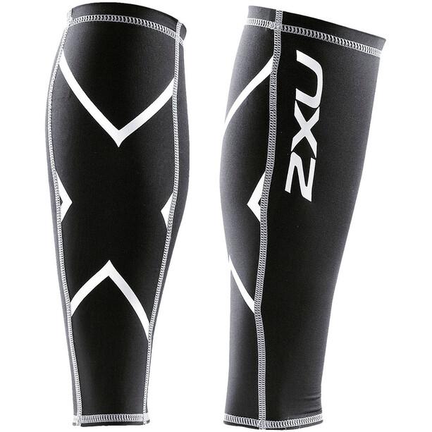 2XU Compression Wadenschützer black/black