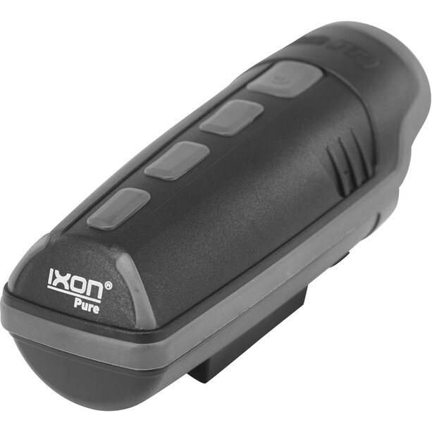 Busch + Müller IXON Pure Front Light with battery charger, noir