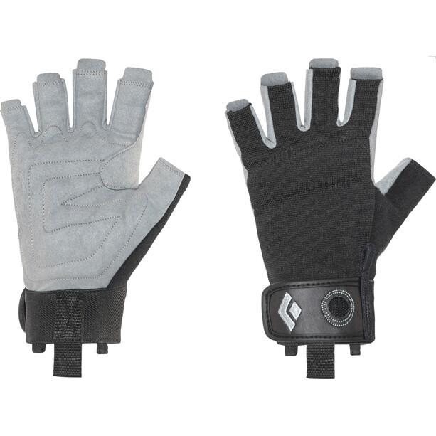 Black Diamond Crag Half-Finger Handschuhe black