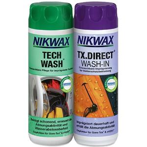 Nikwax Tech Wash + TX.Direct Wash-In 2 x 300ml