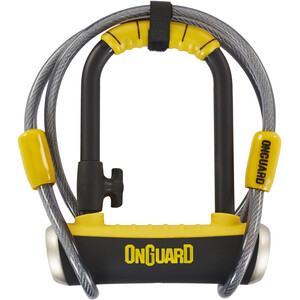 Onguard Pitbull Mini DT 8008 U-Lock 90x140mm black/yellow black/yellow