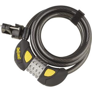 Onguard Dobermann Combo 8031GLO Candado de cable espiral 185cm Ø12mm