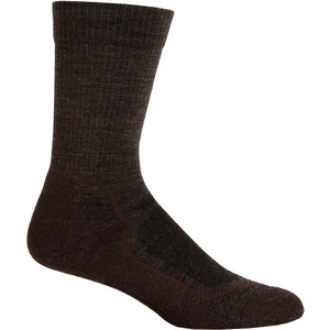 Icebreaker Hike+ Light Crew-Cut Socken Herren earthen hthr/bark/oak earthen hthr/bark/oak