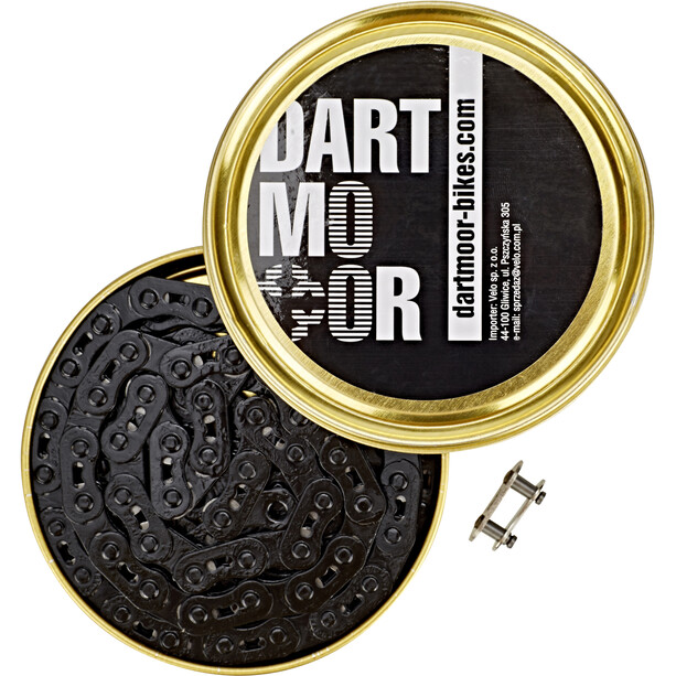 """DARTMOOR Core Kette 3/32"""" schwarz"""