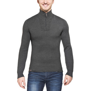 Woolpower 200 Zip Turtle Neck Damen grey grey