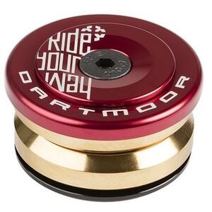DARTMOOR Prime Steuersatz IS42/28.6 I IS42/30 rot rot
