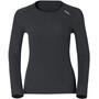 Odlo Active Originals Warm Langarm Rundhalsshirt Damen black