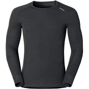 Odlo Warm Shirt Langarm Rundhals Herren black black