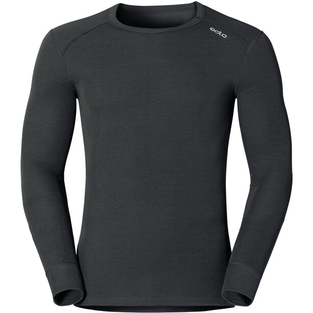 Odlo Warm Shirt Langarm Rundhals Herren black