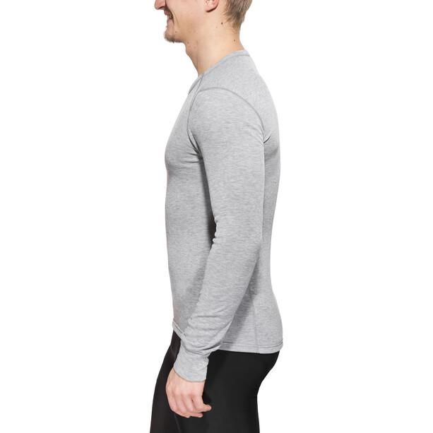 Odlo Warm Shirt Langarm Rundhals Herren grey melange