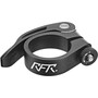 Cube RFR Seat post clamp mit Schnellspanner black