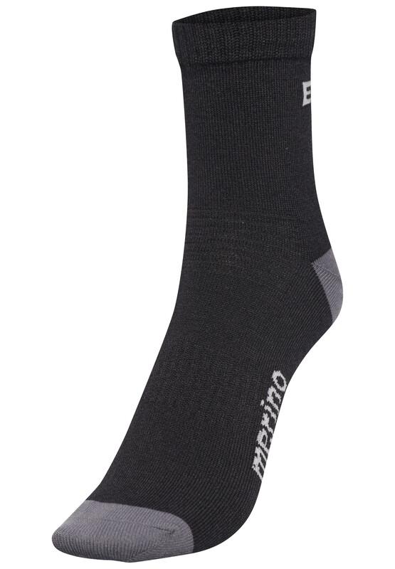 BaaBaa Merino Sportsocks TwinPack black 42-47 2018 Socken