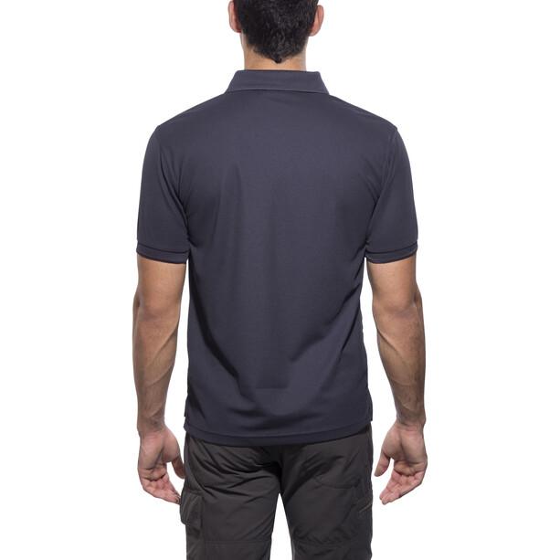 Fjällräven Crowley Piqué Shirt Herren blueblack