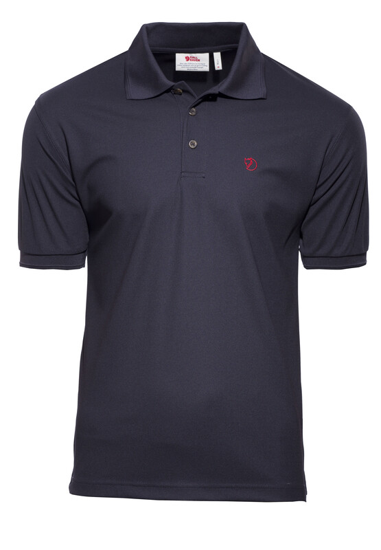 Fjällräven Crowley Pique Shirt Men Blueblack Kurzarmshirts S 81783-553-S