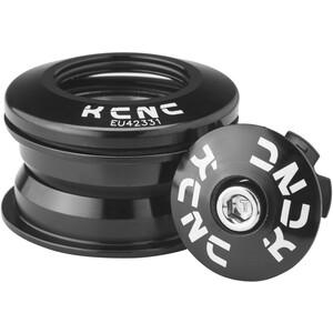 """KCNC Kudos-Q1 Steuersatz 1 1/8"""" ZS44/28.6 ZS44/30 schwarz schwarz"""