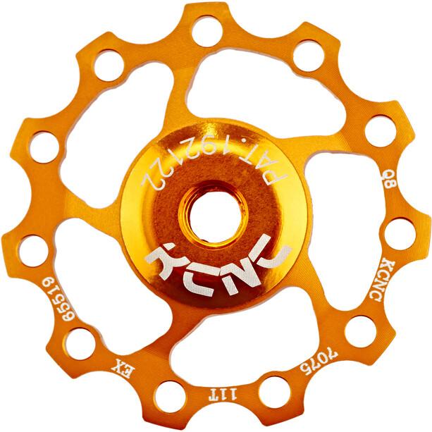 KCNC Jockey Wheel 11 tänder SS Kullager gold