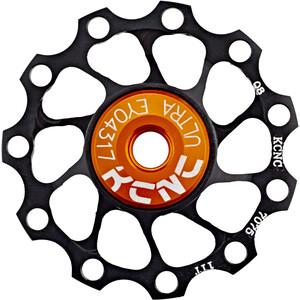 KCNC Jockey Wheel Ultra 11 tänder SS Kullager black black