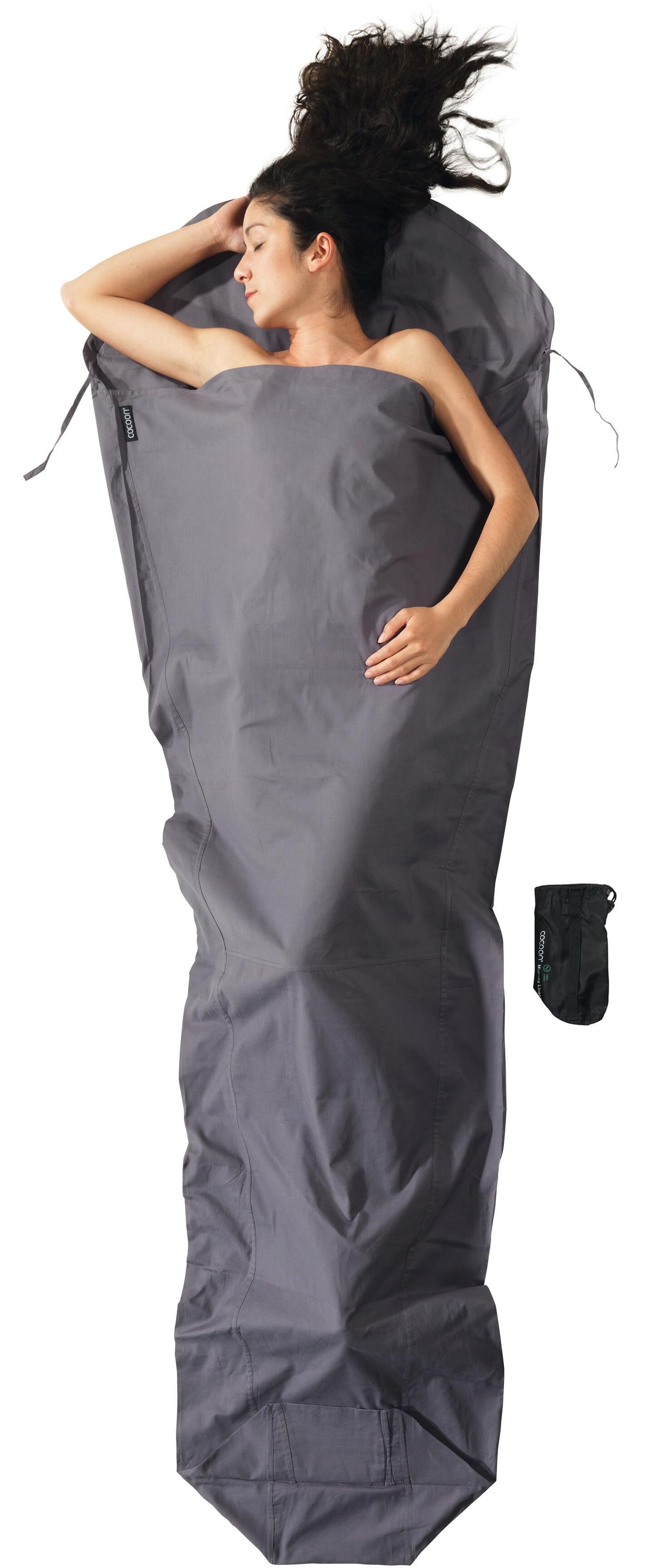 cocoon drap sac de couchage en coton gris boutique de v los en ligne. Black Bedroom Furniture Sets. Home Design Ideas