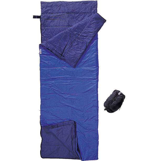 Cocoon Tropic Traveler Schlafsack Nylon Long royal blue/tuareg