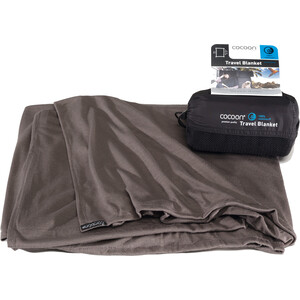 Cocoon Travel Blanket CoolMax charcoal charcoal