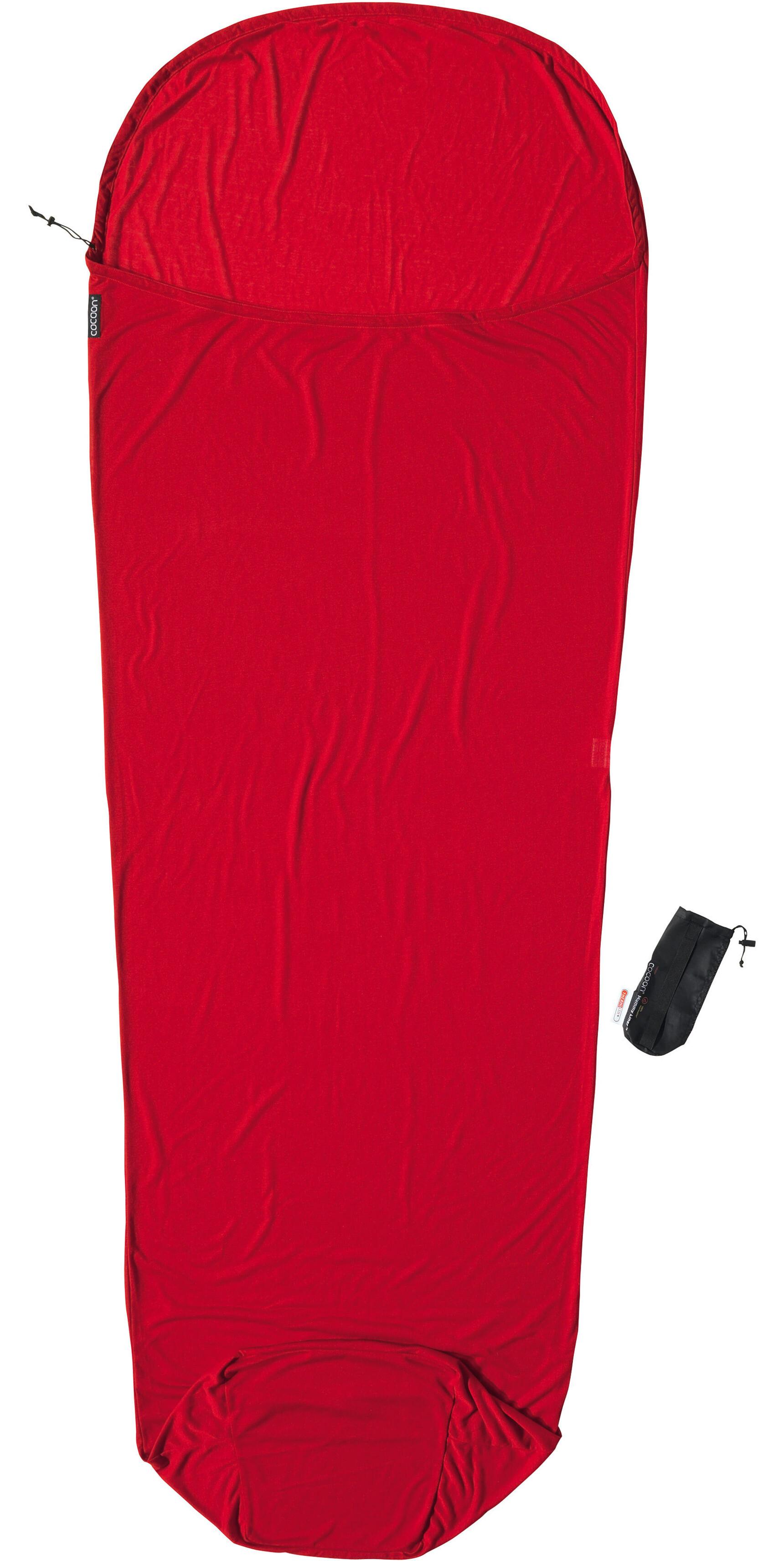 cocoon drap sac de couchage thermolite rouge boutique de v los en ligne. Black Bedroom Furniture Sets. Home Design Ideas