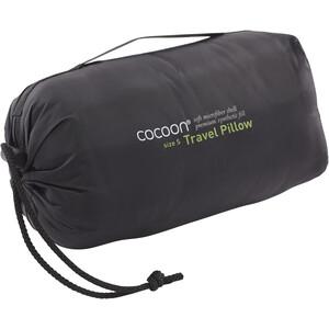 Cocoon Travel Pillow Microfiber/Nylon Shell Synthetic Fill Small charcoal/smoke grey charcoal/smoke grey