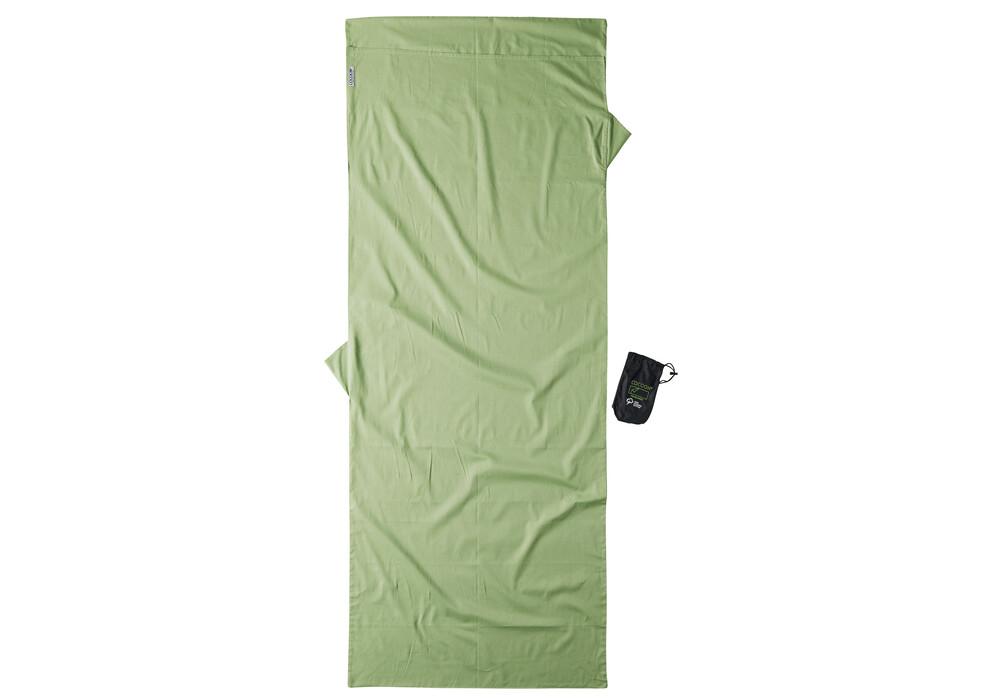 cocoon drap sac de couchage coton bio vert sur. Black Bedroom Furniture Sets. Home Design Ideas