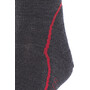 Icebreaker Hike+ Light Crew-Cut Socken Herren jet hthr/red/black
