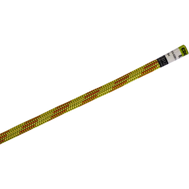 Edelrid Confidence Rope 8mm x 20m, oasis/flame