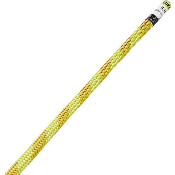 Edelrid Confidence Seil 8mm x 30m gelb/orange