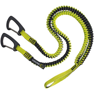 Edelrid Spinner Y-Schlinge grün/schwarz grün/schwarz