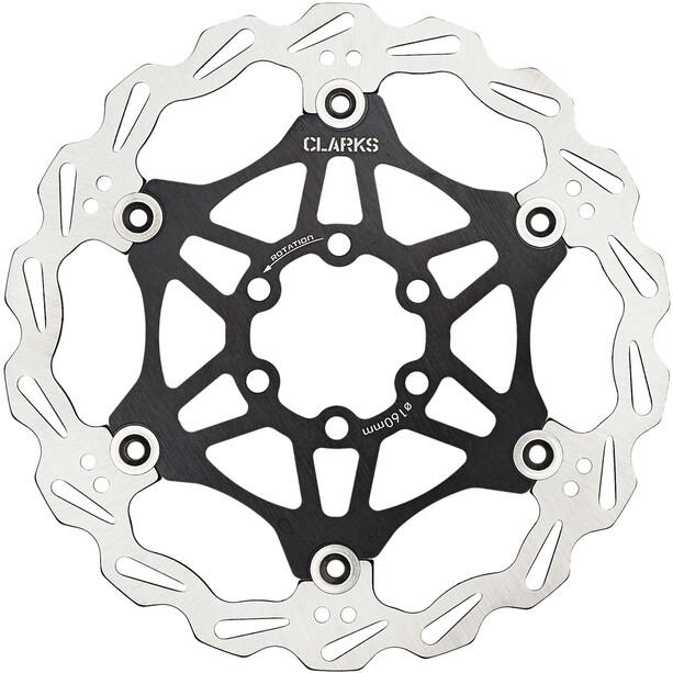 Clarks Lightweight Disc-Rotor 6-Loch black