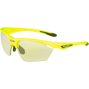 Rudy Project Stratofly Lunettes, yellow fluo gloss/photoclear yellow fluo gloss/photoclear