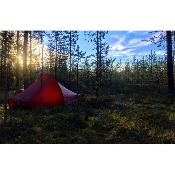 Nordisk Telemark 1 Light Weight Zelt burnt red