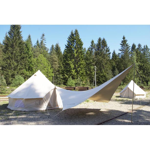 Nordisk Kari Diamond 10 m² Tarp Technical Cotton natural