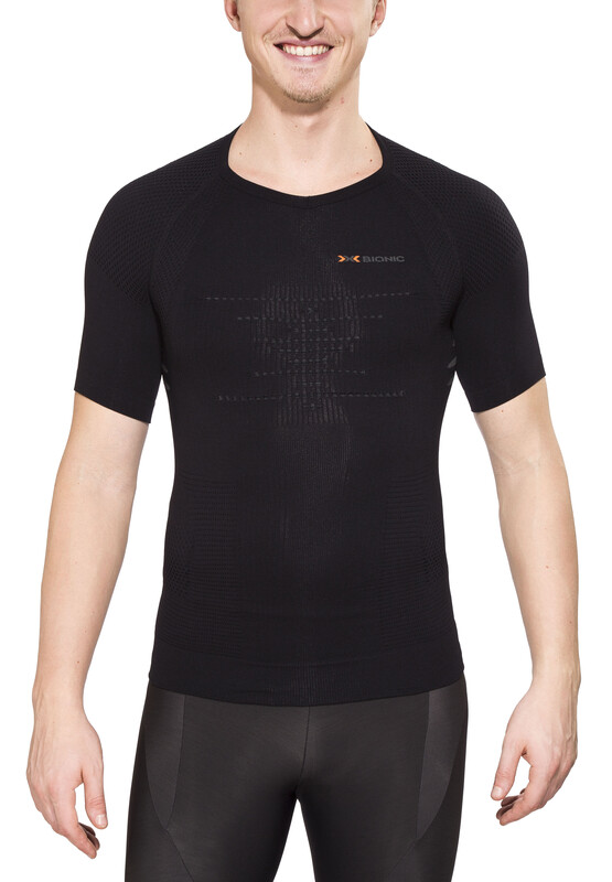 X-Bionic Trekking Summerlight Shirt SS Men Black/Anthracite L/XL 2018 Unterhemden